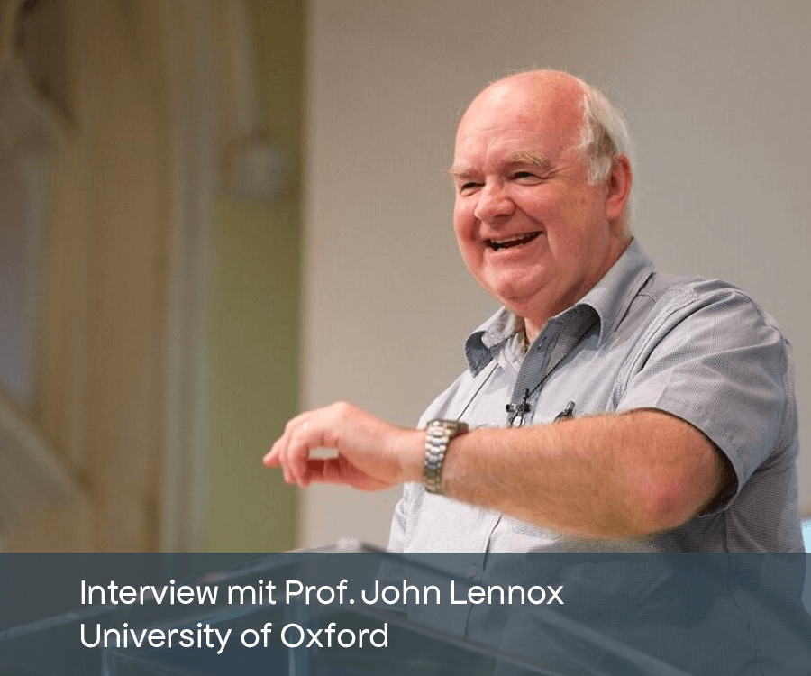 Leid Gott Warum Corona COVID-19 John Lennox Oxford Interview