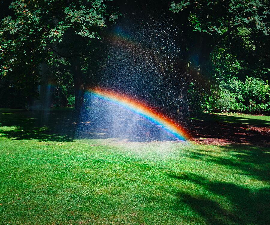 Regenbogen Hoffnung Corona Virus Pandemie Gott Jesus Bibel